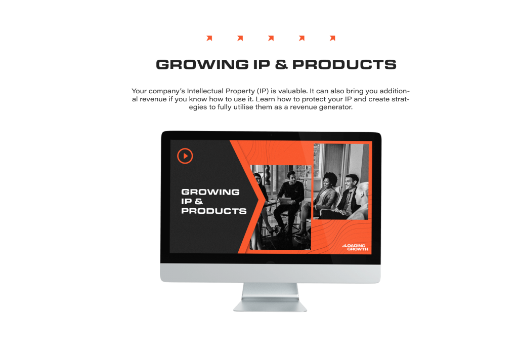 Growing IP and Products (1)