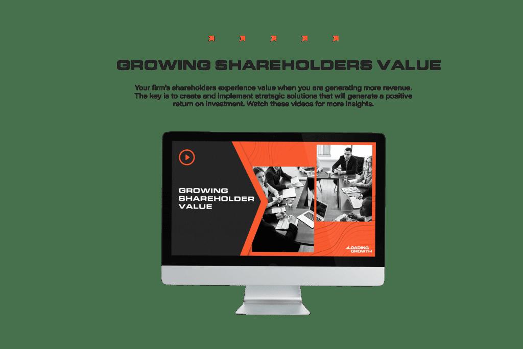 Growing Sharegolder Value